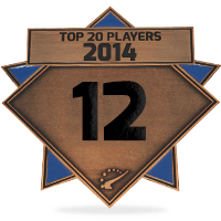 #12 best player in 2014