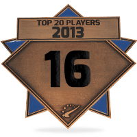 #16 best player in 2013
