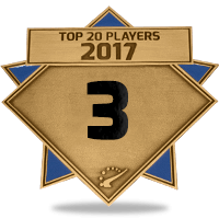 #3 best player in 2017