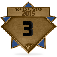 #3 best player in 2015