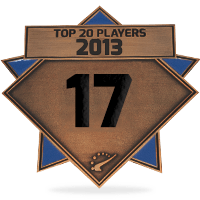 #17 best player in 2013