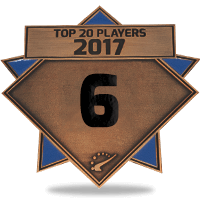 #6 best player in 2017
