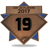 #19 best player in 2017
