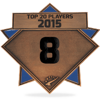 #8 best player in 2015