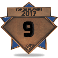#9 best player in 2017