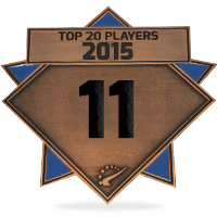 #11 best player in 2015