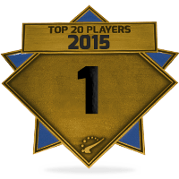 #1 best player in 2015