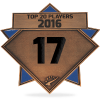 #17 best player in 2016