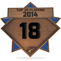 #18 best player in 2014