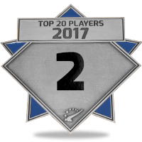 #2 best player in 2017