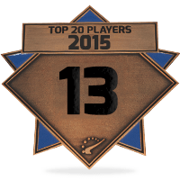 #13 best player in 2015