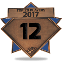 #12 best player in 2017